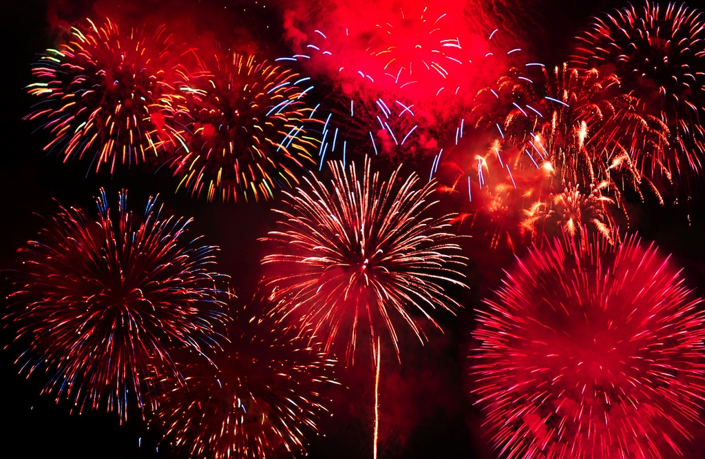 Fireworks will light up Lowcountry skies on Friday night in celebration of Independence Day. (photo by dreamstime.com)