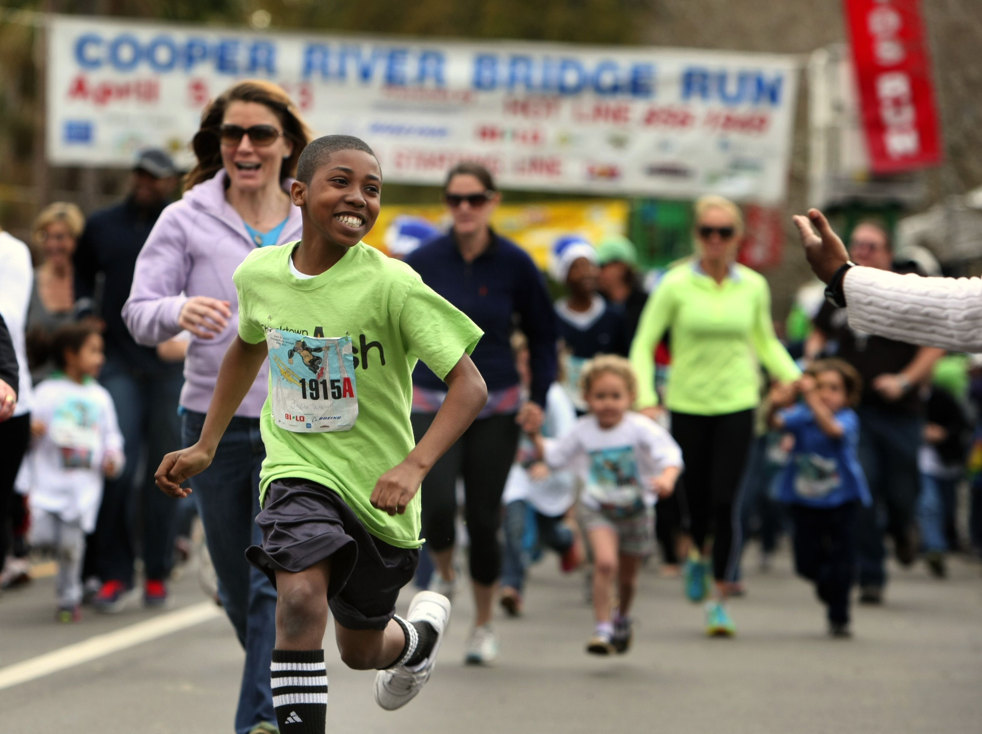 The annual Kids Run and Wonderfest is Friday at Hampton Park in downtown Charleston. (Paul Zoeller/The Post and Courier)