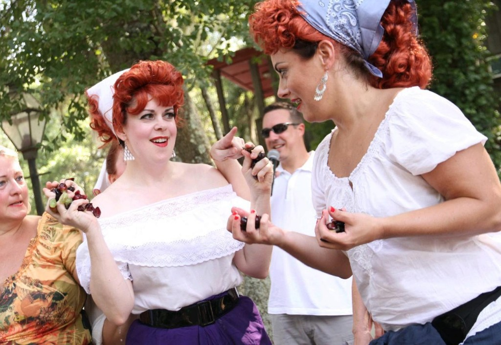 A Lucille Ball look-alike contest is among the highlights of the Grape Stomping Festival on Saturday at Deep Water Vineyard (formerly Irving House Vineyard). Photo by Marie Rodriguez/Special to The Post and Courier.